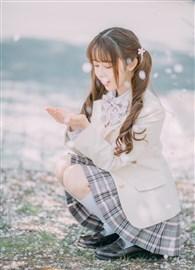 可以和你一起去看樱花吗?