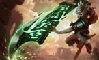 重剑无锋!锐雯vs剑魔全神装正面对拼测试